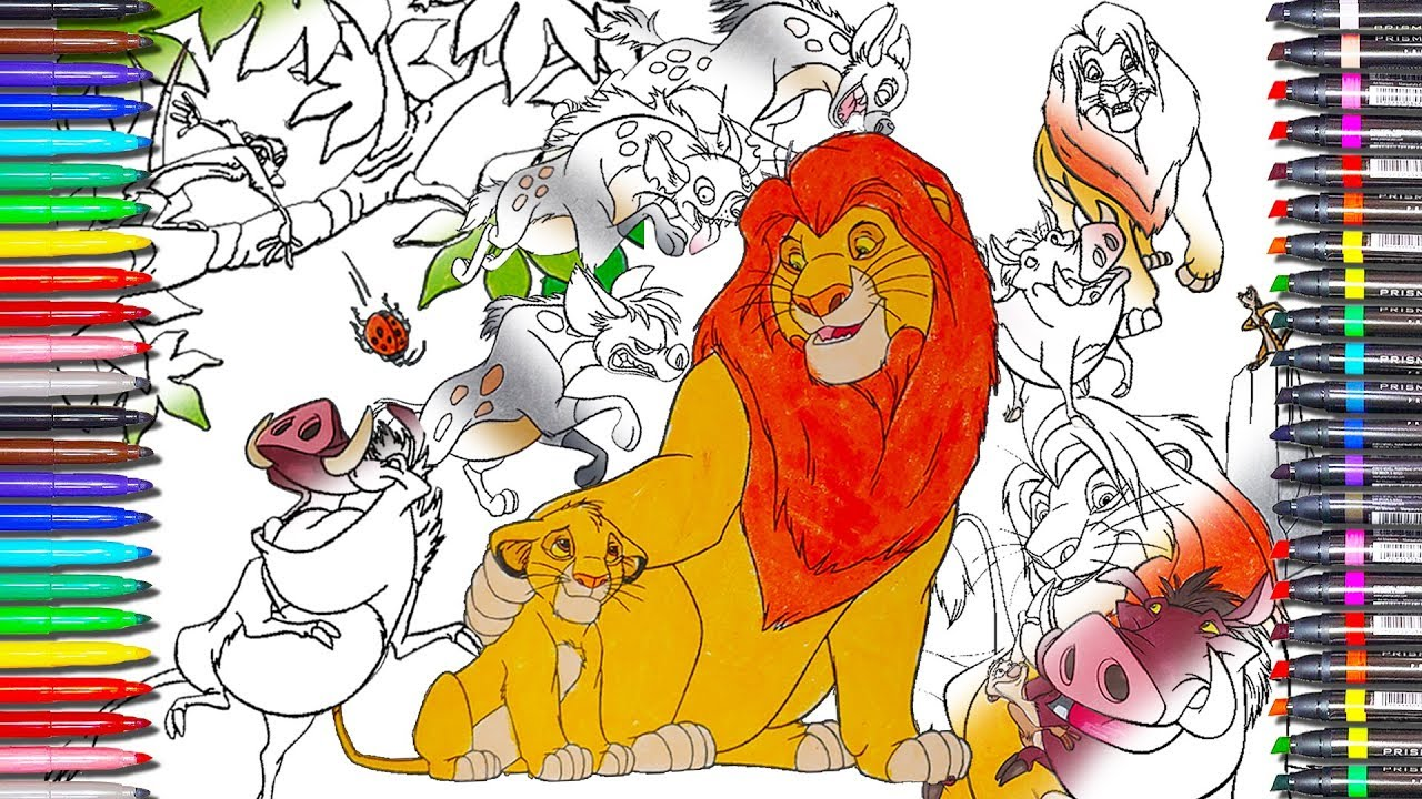 Best Free Lion King Scar Coloring Pages Design - Coloring Pages ...   720x1280