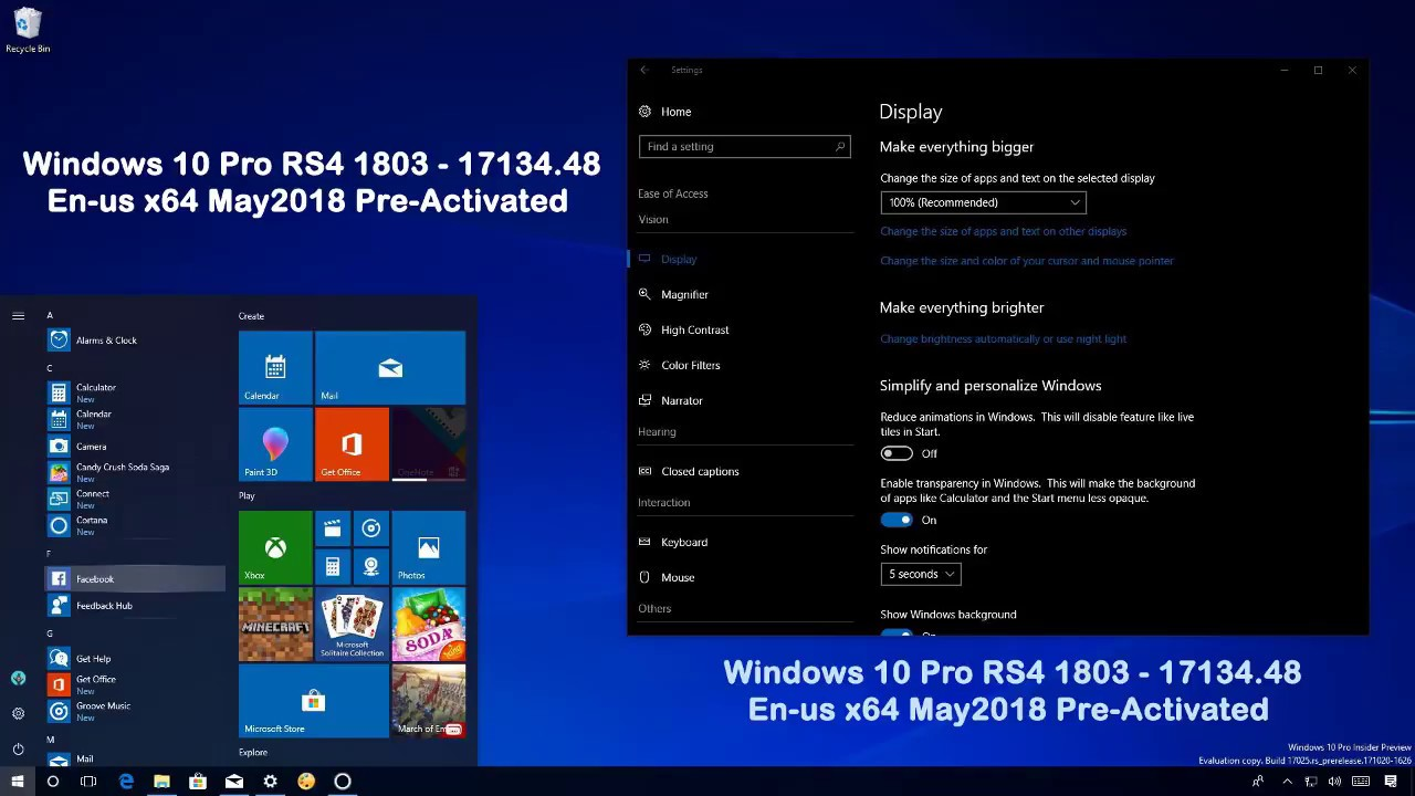 Windows 10 Pro X64 Redstone 4 1803 Build 17134.137 3in1 ISO Utorrent