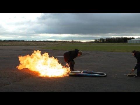 MASSIVE Pulse jet FIRST TEST