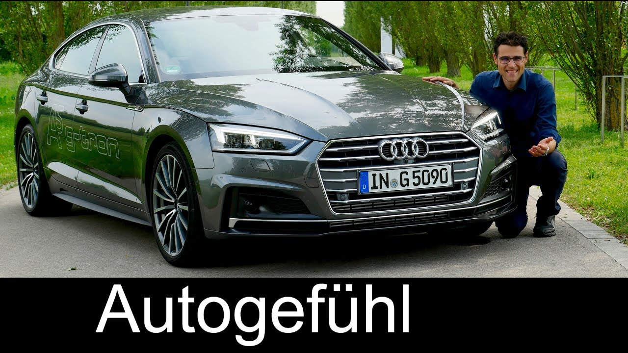 Audi A5 Full Review Sportback G Tron Test S Line All New Neu 2018
