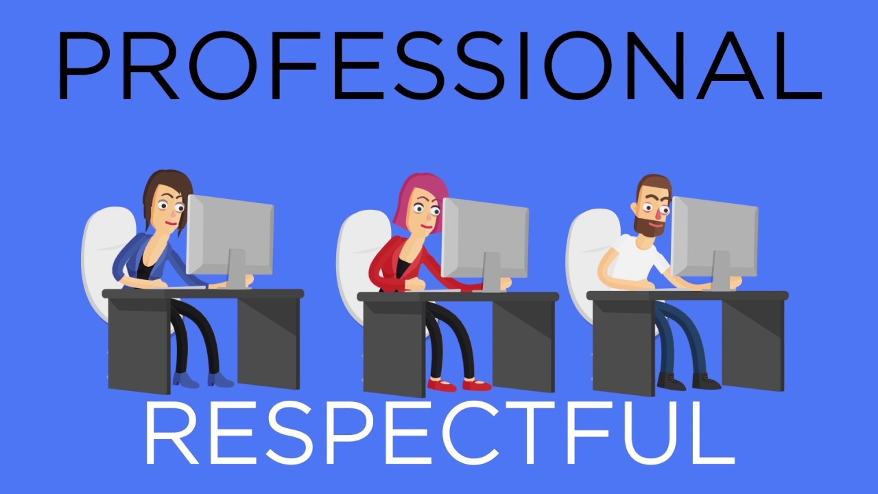Respect in the Workplace - YouTube