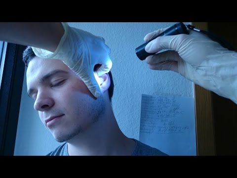 ASMR - Real Person Cranial Nerve Examination / Check Up *No Talking*