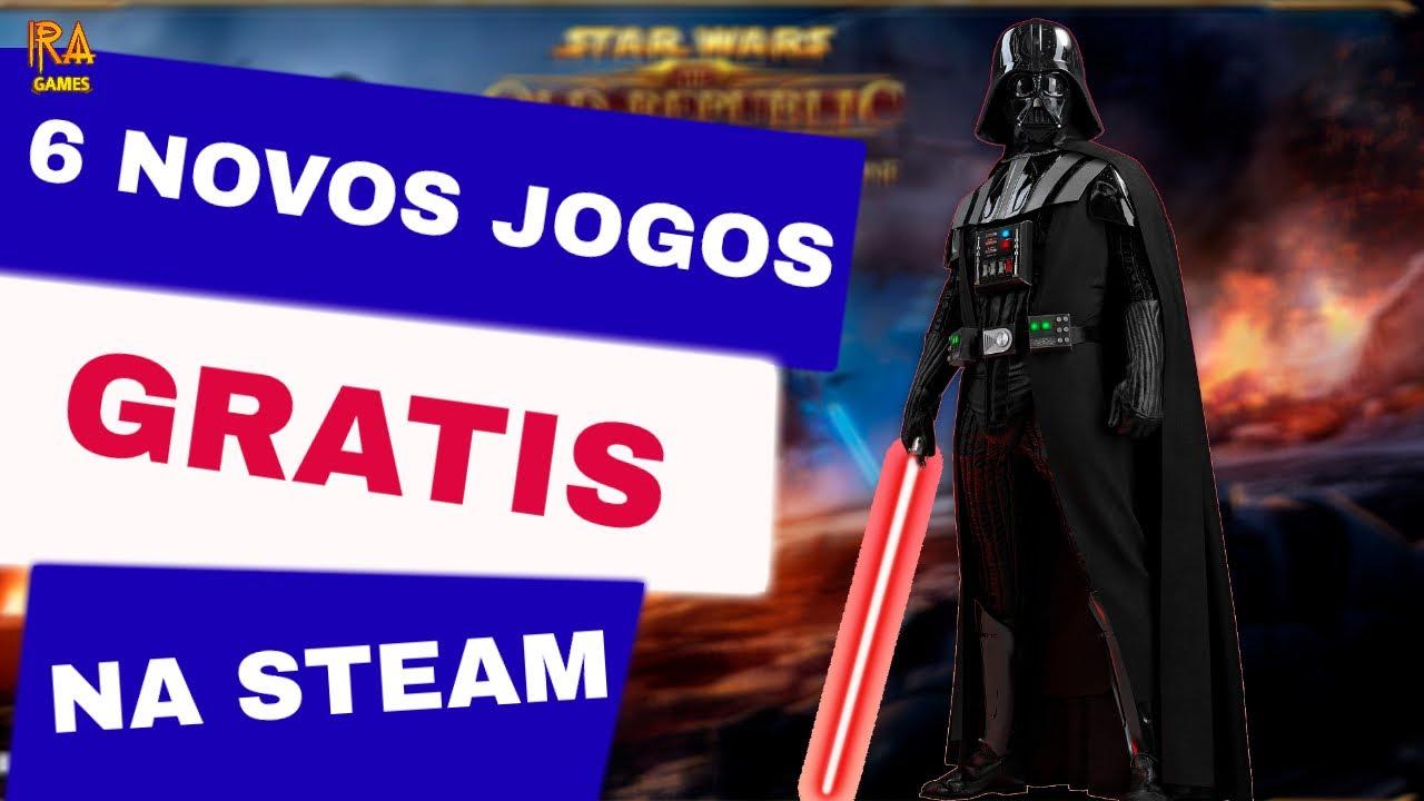 6 NOVOS JOGOS GRÁTIS PARA PC NA STEAM  -  IRA GAMES