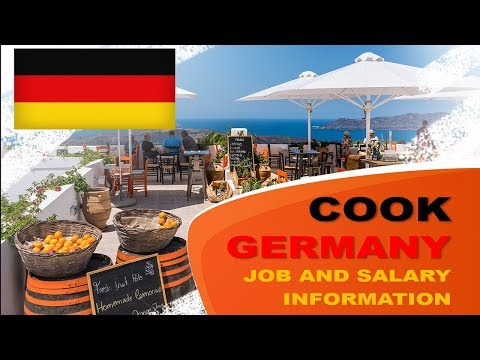 Cook Salary In Germany - Jobs And Wages In Germany
