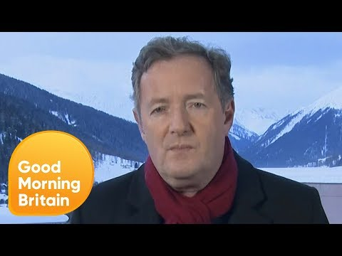 Piers Morgan Reacts to His  With Donald Trump  Good Morning Britain