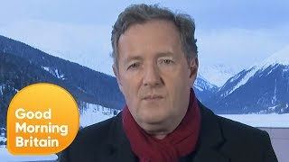 Piers Morgan Reacts to His Interview With Donald Trump | Good Morning Britain