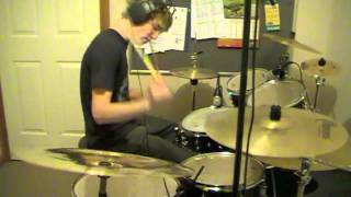 Drum Cover of Behind Closed Doors by Rise Against (HD)