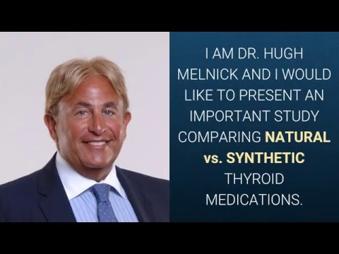 THYROID MEDICATIONS: SYNTHETIC vs. NATURAL
