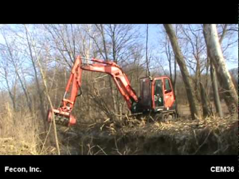 Fae Forestry Mulcher Kubota Kx 80 Doovi