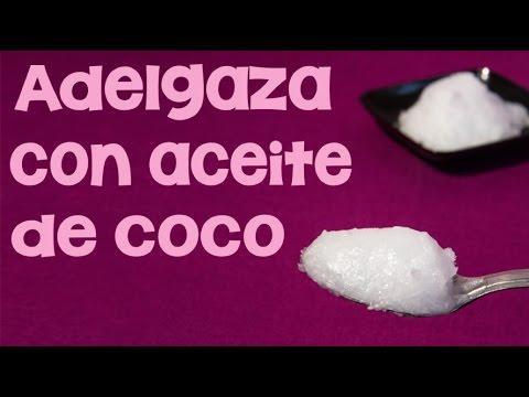 cómo utilizar el grasa de coco para descabalgar de peso