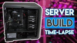 Building the ULTIMATE BUDGET 10Gbit Server! [TIMELAPSE!]