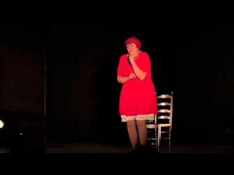 Colette Migné dans le 20° festival du conte du Lébérou en Périgord Noir