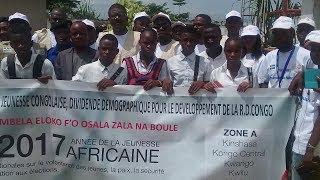 TOURNEE DU COORDONATEUR DU CJV-RDC ALAIN MAKUTA