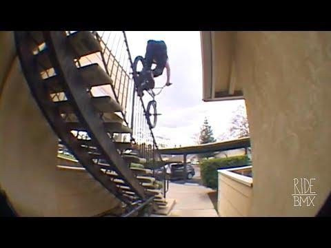INSANE BMX ROOF RIDING IN FRESNO - REAGAN RILEY