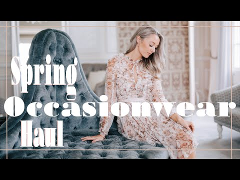 SPRING OCCASIONWEAR HAUL // #FashionMumblrSpringEdit