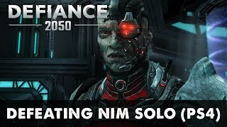 Defiance 2050 (PS4) Soloing Nim