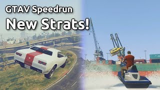 Strat Update for the GTAV Speedrun (September 2019)