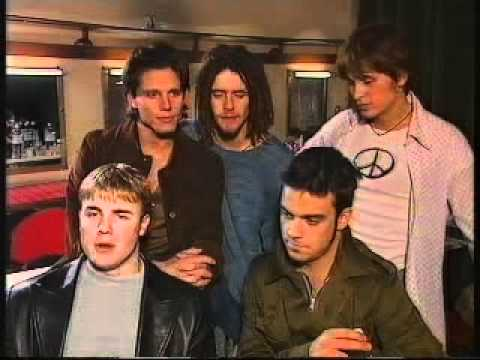 Take That on The Ozone - Interview in Monte Carlo - 1995