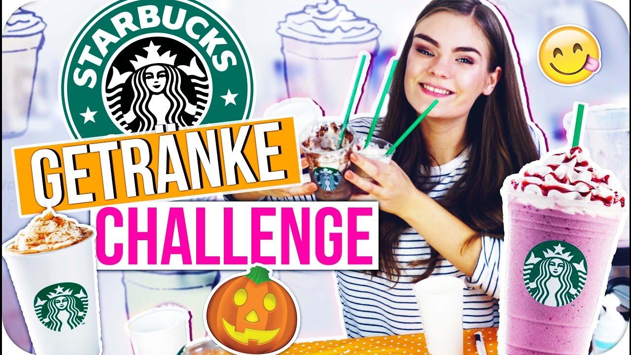 STARBUCKS DRINKS DIY CHALLENGE! ◇ 4 Rezepte nachgemacht & LIVE ...