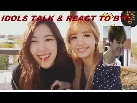 Idol Talk & React to BTS |Compilation|