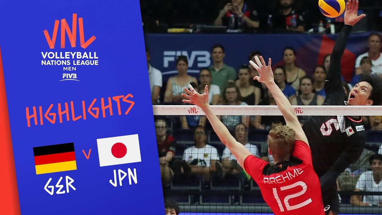 Vnl2020 News Detail Player Of The Week Yuji Nishida Volleyball Nations League 2021