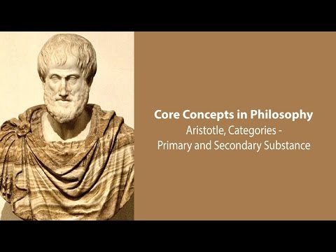 Aristotle on Primary and Secondary Substance (Categories, c.5) - Philosophy Core Concepts