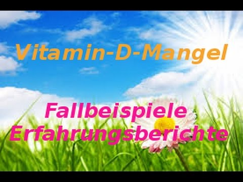 vitamin d mangel fallbeispiele erfahrungsberichte wirkung youtube. Black Bedroom Furniture Sets. Home Design Ideas