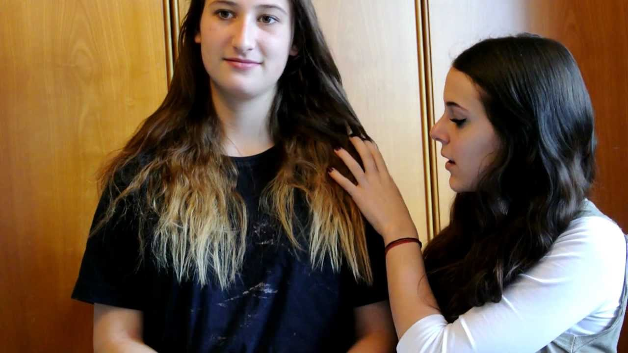 Shatush Ombre Hair Tutorial Italiano YouTube