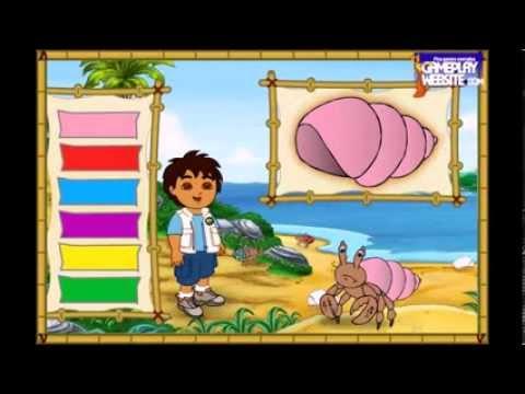 Dora l 39 exploratrice episodes dessins anim s jeux de dora et diego diego 39 s amazing rescues watch - Jeux de go diego ...