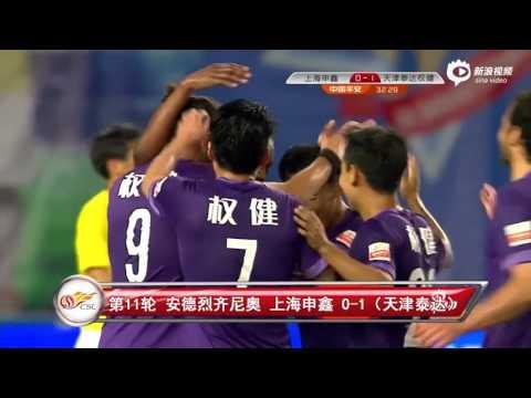 Top 20 Goals In 2015 Chinese Football Association Super League
