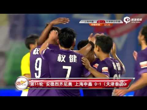 Top 20 Goals In 2015 Chinese Football Association Super League