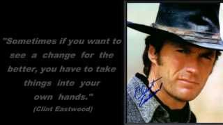 Tribute to Clint Eastwood - Claudia