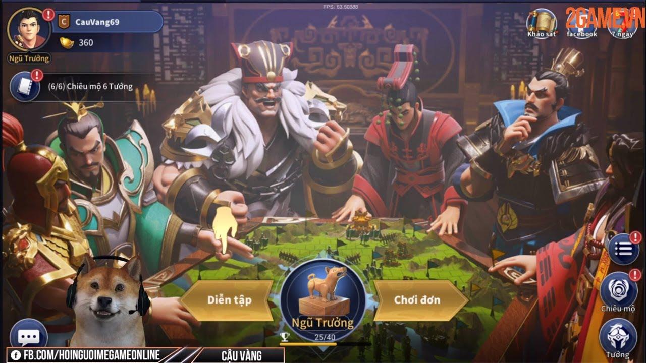 [Trải nghiệm] Nhất Thống Tam Quốc Mobile – Game SLG kết hợp lối chơi Cờ chiến thuật vô cùng độc đáo