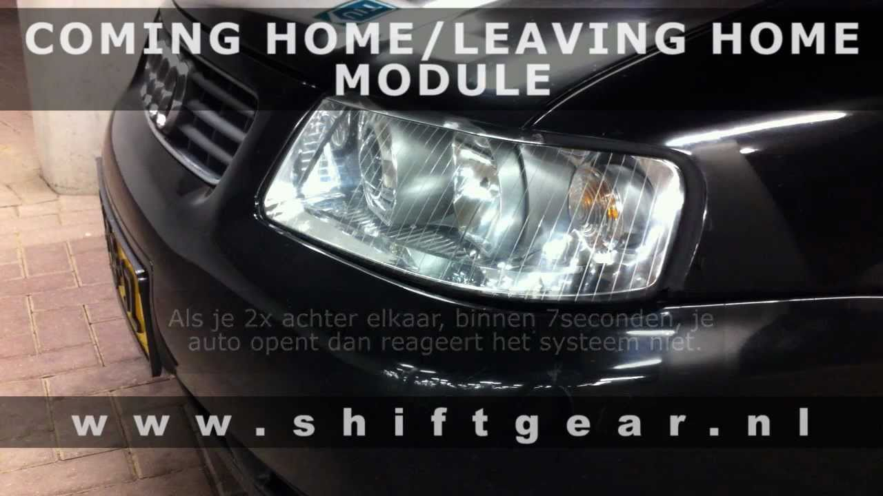 coming homeleaving home module van shift gear electronics