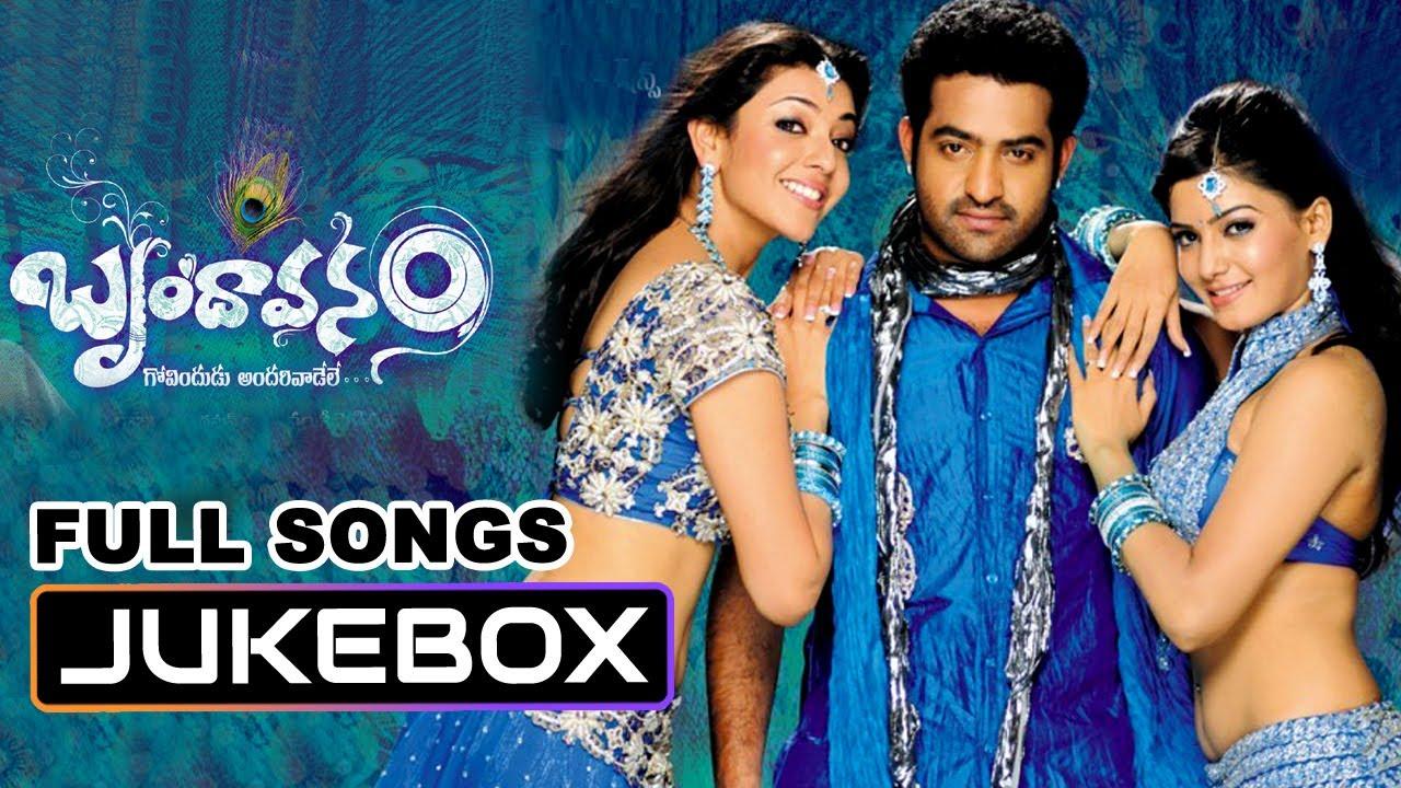 brindavanam telugu songs jukebox jrntr kajal agarwal samantha youtube