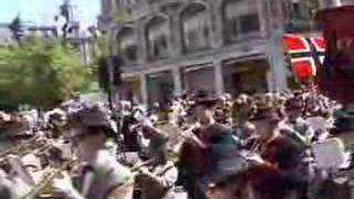 Romsås Janitsjar - 17. mai - Fra barnetoget i Oslo
