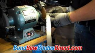 How A Bandsaw Blade Is Welded - Bandsawbladesdirect