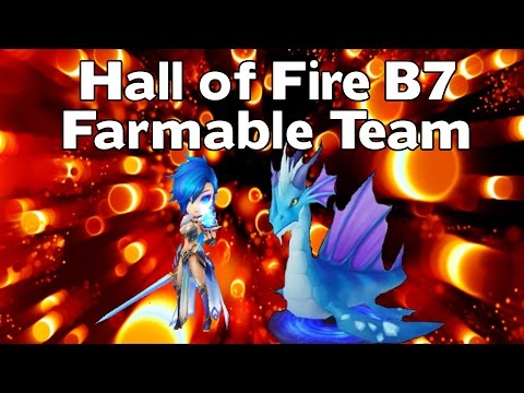 Summoners War - Hall Of Fire B7 Farmable Team