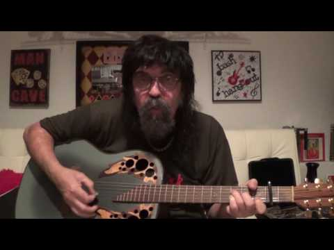 UNEASY RIDER - Charlie Daniels cover