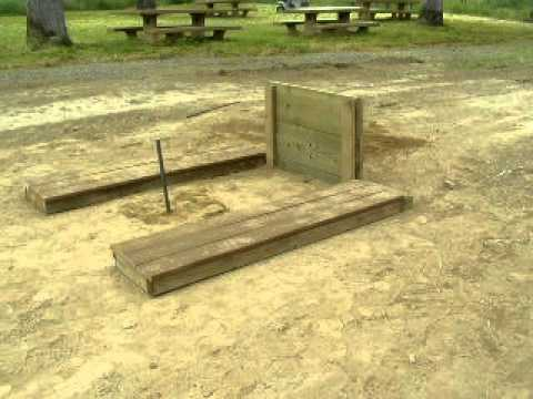 Horseshoe Pit Construction Palo Cedro Park May 7 2017