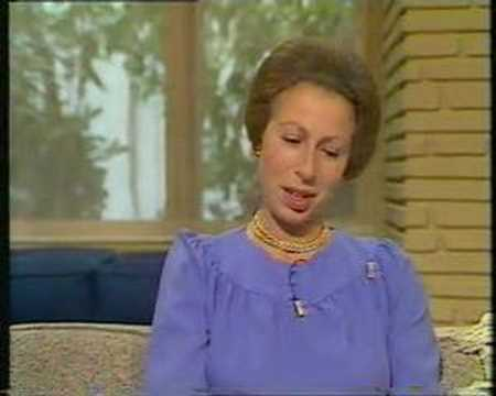 David Frost interviews Princess Anne on TV-am - 1984