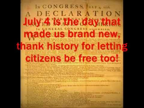 DECLARATION OF INDEPENDENCE RAP - YouTube