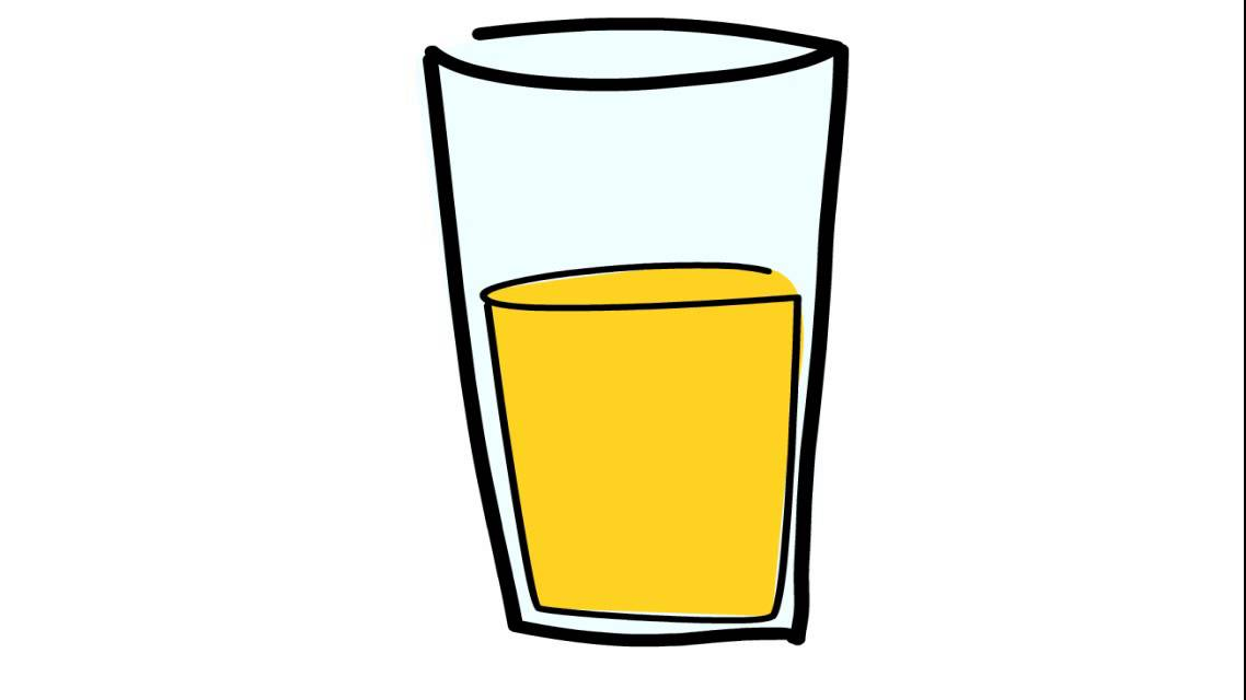 Comment Dessiner Un Jus D Orange