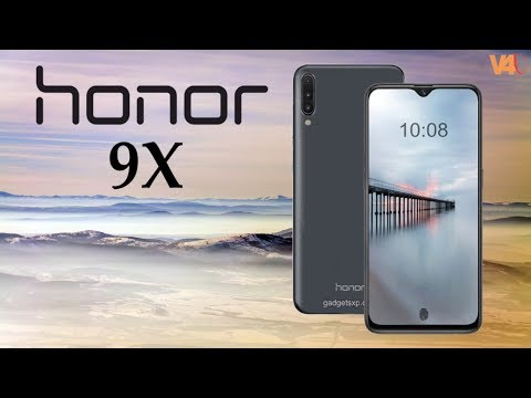 Honor 9X First Look, Release Date, Price, Specs, Camera, Features, Trailer, Launch, Leaks, Concept