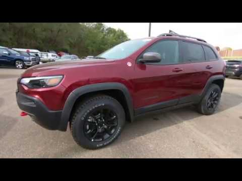 2020 Jeep Cherokee Trailhawk 4x4 - New SUV For Sale - St. Paul, MN