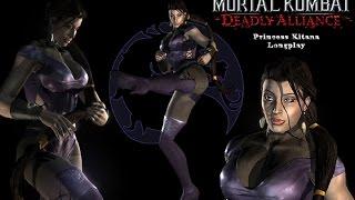 Mortal Kombat Deadly Alliance [PS2] - Arcade Mode - Kitana