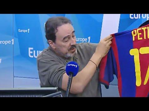 L'histoire du maillot d'Emmanuel Petit pour le centenaire du FC Barcelone