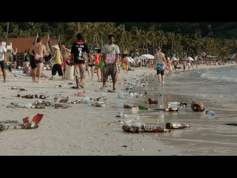Trouble in Paradise Documentary- Thailand's Full Moon Party Trash Problem