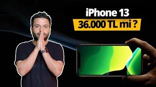iPhone 13 Türkiye fiyatı gerçekten 36.000 TL mi? - GECE YARISI ACİL VİDEO!