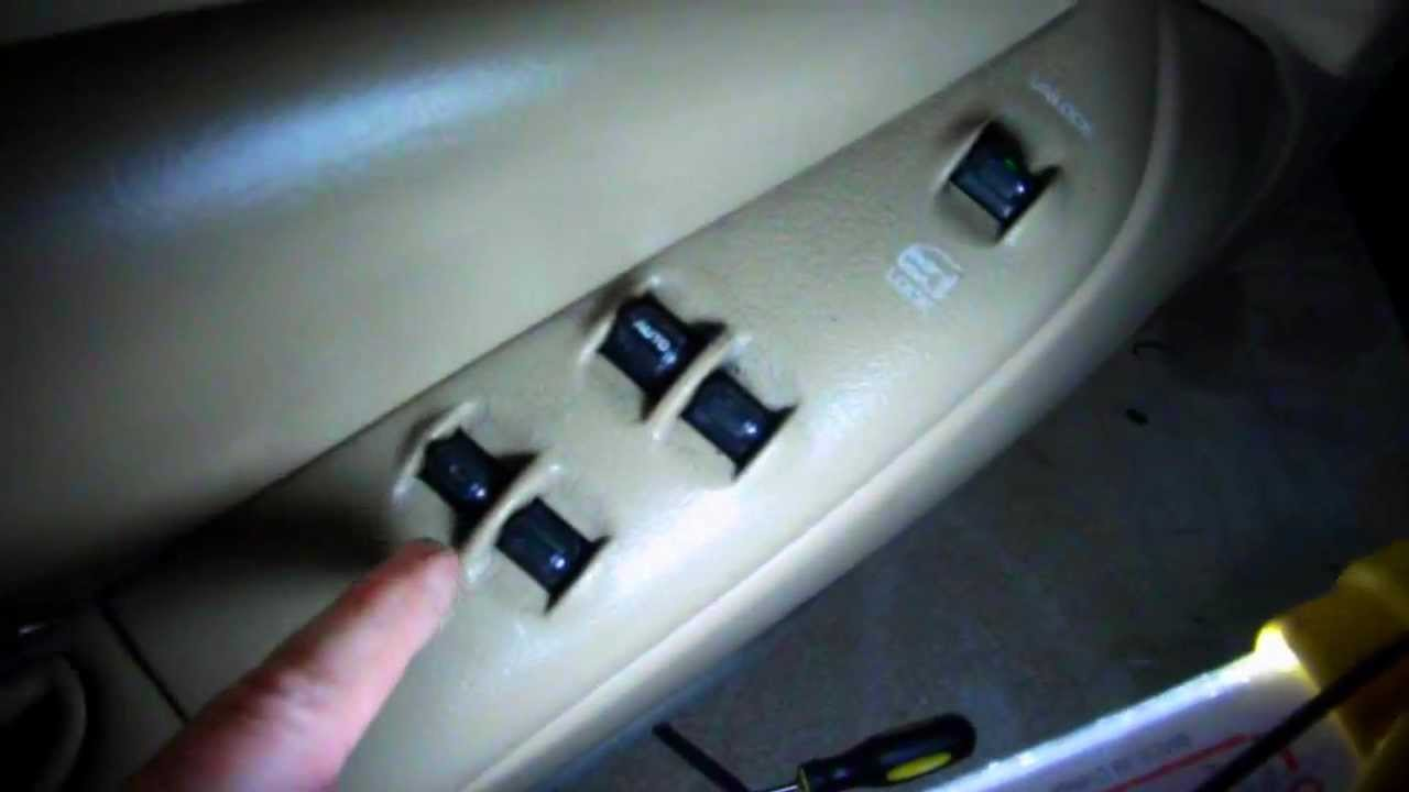hight resolution of chrysler sebring convertible power window fix 96 00